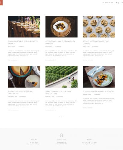 Blog Layout