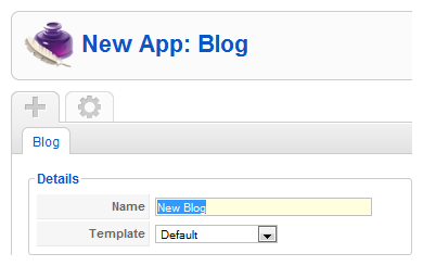 Create a new app instance