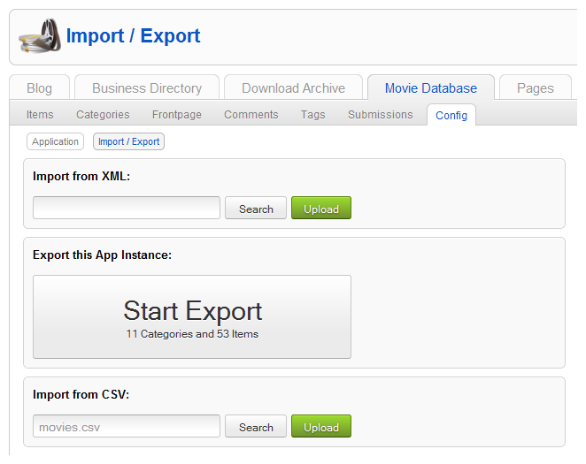 How to usethe CSV importer