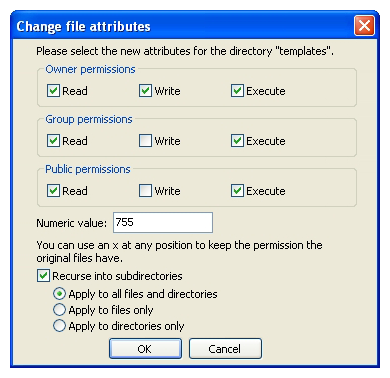 Permission issues