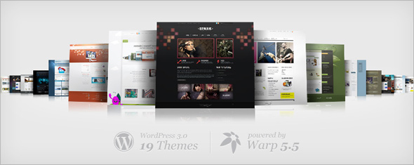 19 Themes for WordPress – Our theme collection has grown
