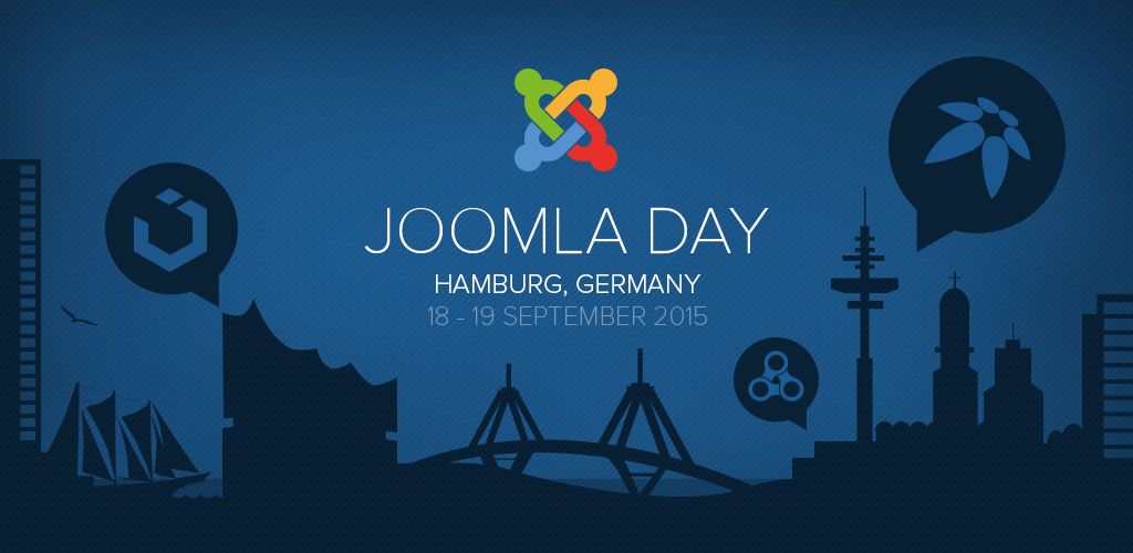 JoomlaDay Germany 2015 – Giving talks and being a sponsor