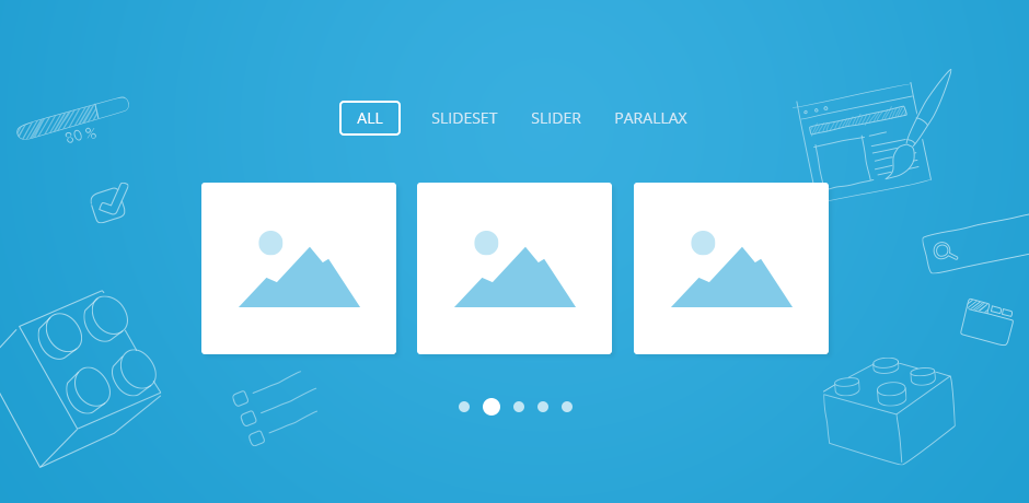 UIkit 2.19 – New Slider, Slideset and Parallax components