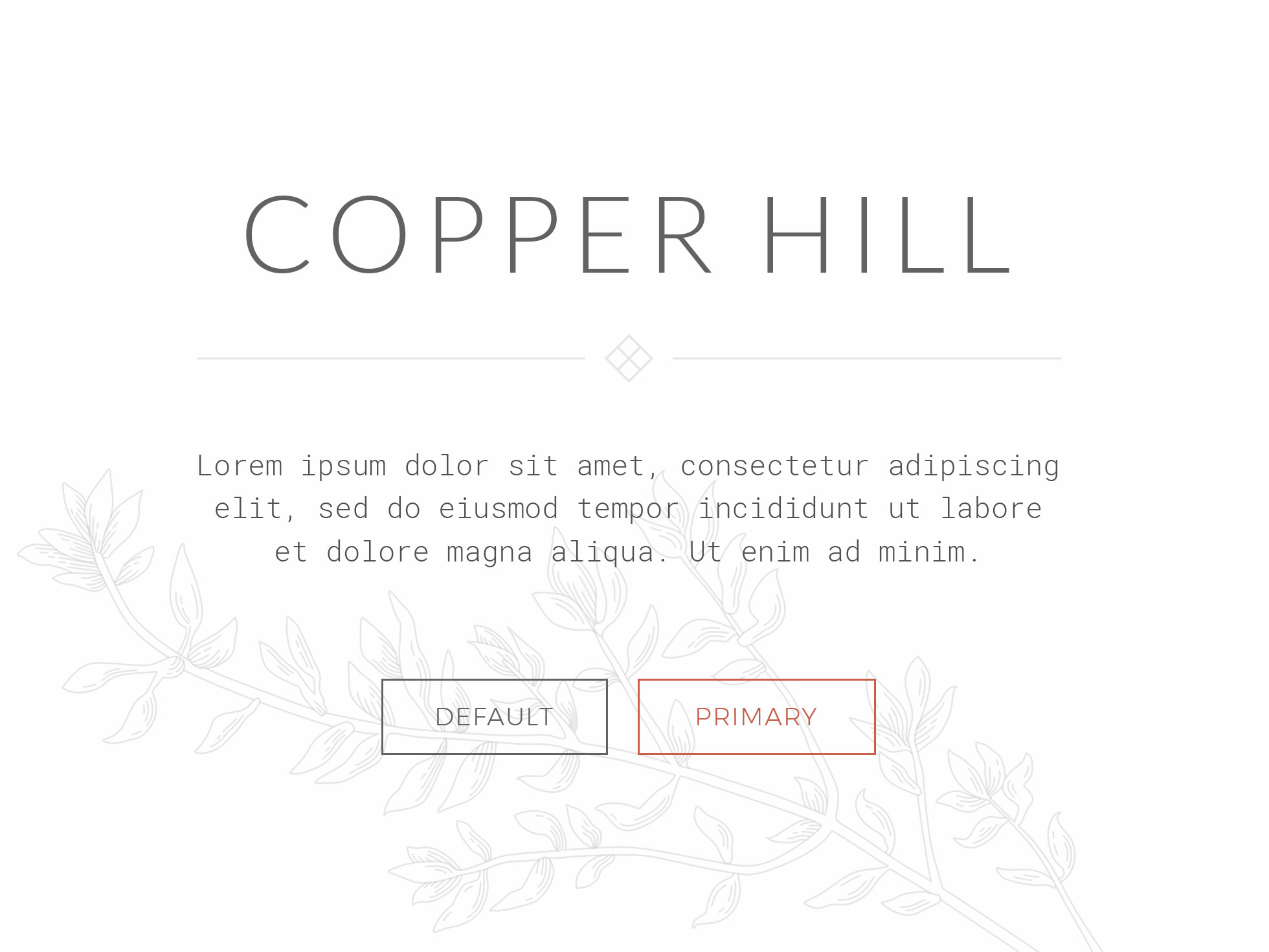 Copper Hill Theme for YOOtheme Pro - YOOtheme