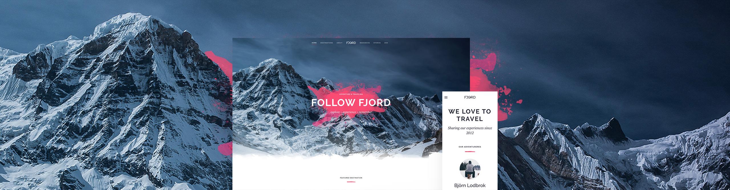Fjord Theme for YOOtheme Pro - YOOtheme