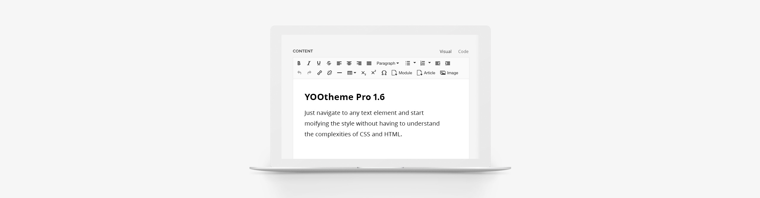 YOOtheme Pro 1.6 – WYSIWYG editor support and new elements - YOOtheme