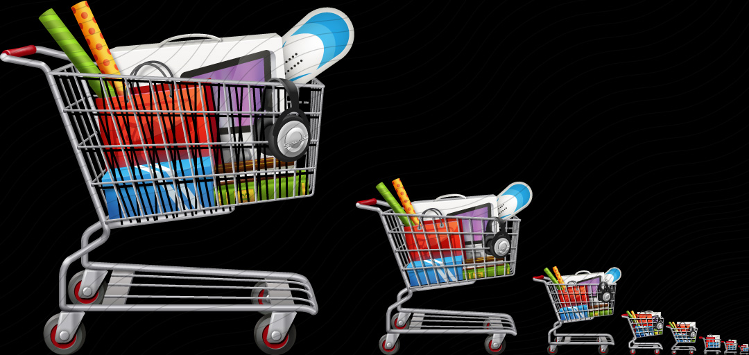 Shopping Cart Goods Icon